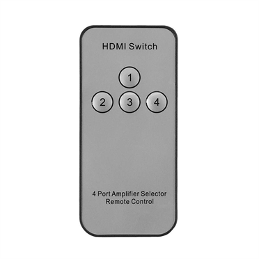Belkin AV10117 4-Way HDMI features the Automatic Switch Mode that sends data from that device to another