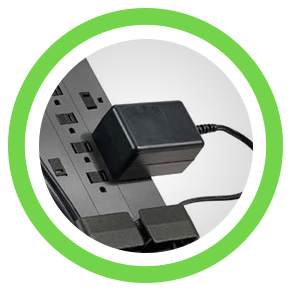 blockspace outlets for larger adapters - icon