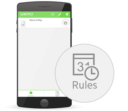 Belkin Knowledge Articles - How to create a Schedule rule