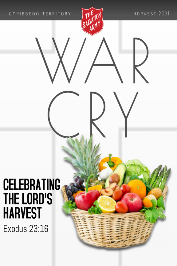 War Cry Cover - easter 2021