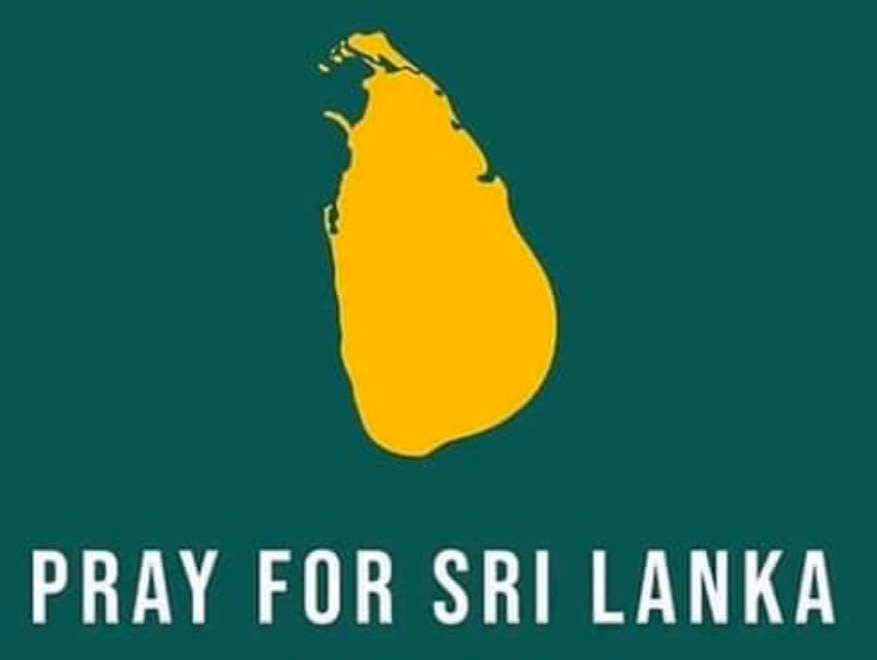 Pray for Sri Lanka
