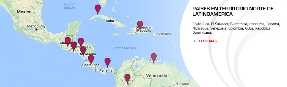 Territorio Norte de Latinoamerica