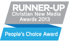 Runner Up, Christian New Media People's Choice Award 2013