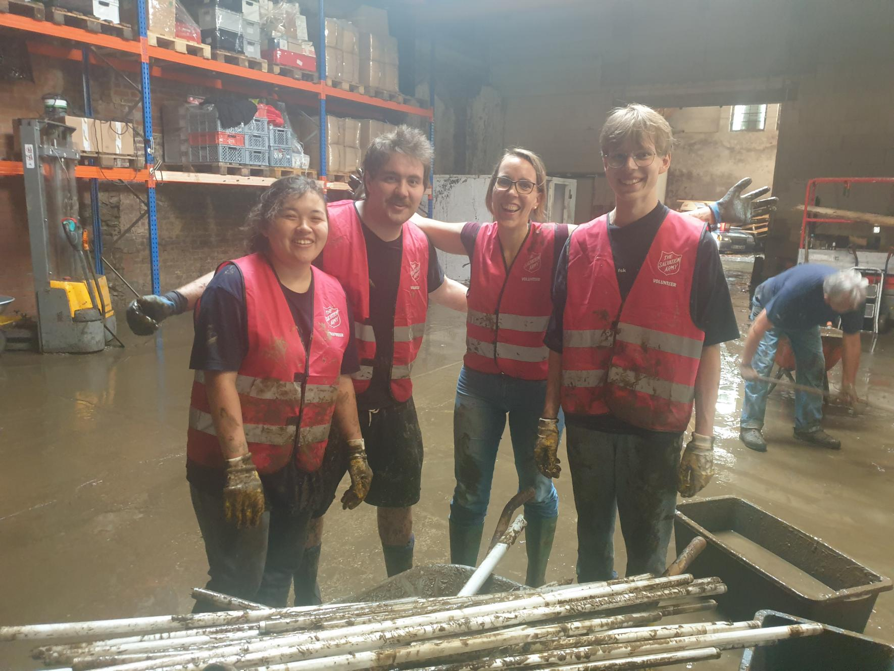 Salvation Army flooding response in Germany