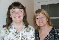 Lissa and her mum