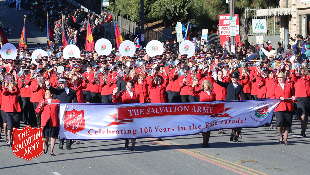 The Salvation Army International 2019 Rose Parade Unites Salvation Army Musicians From Every Continent