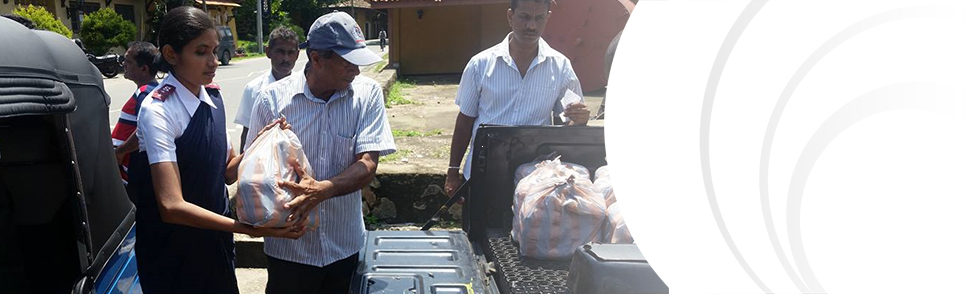 Sri Lanka flood response