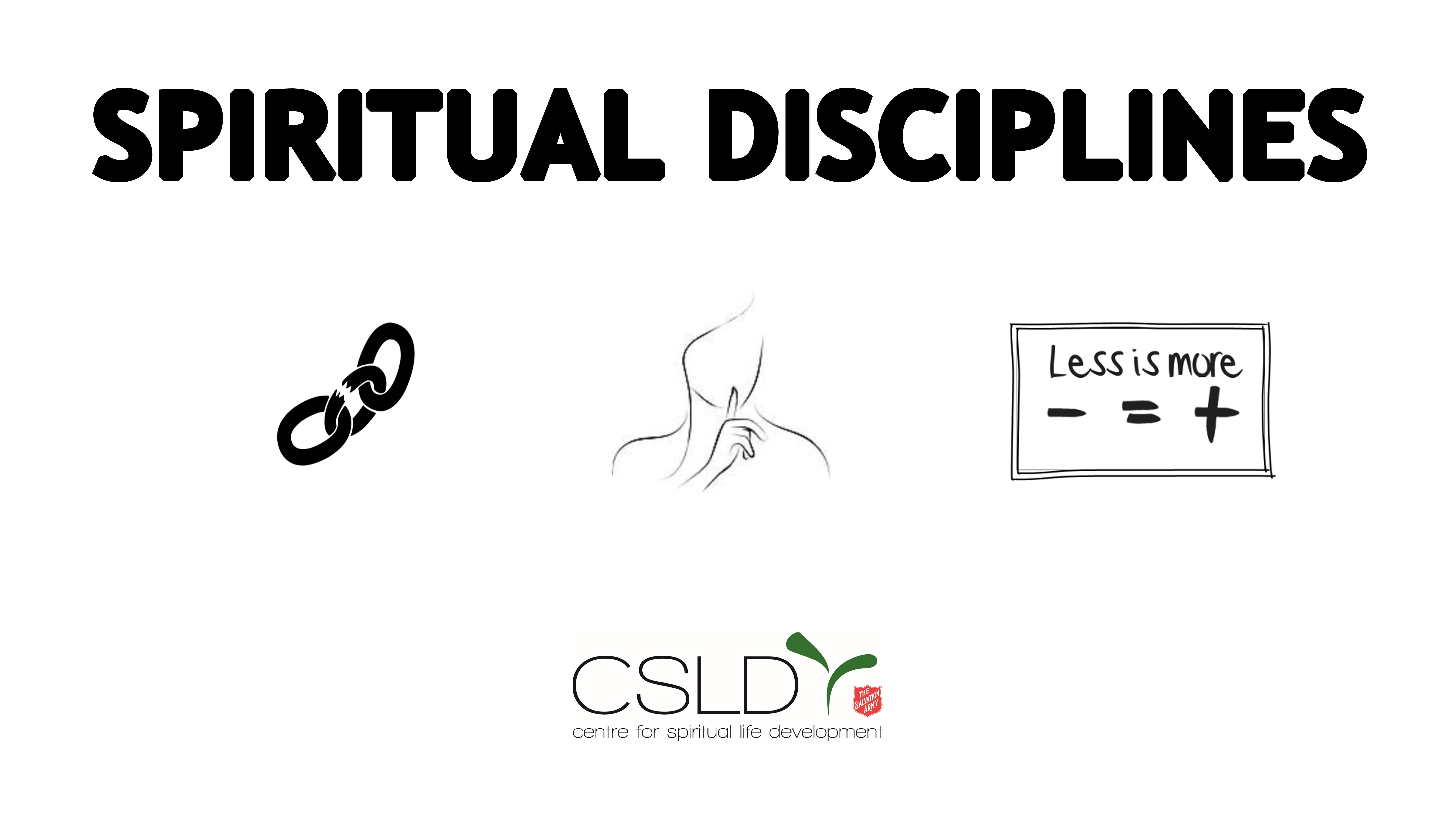 Spiritual disciplines intro