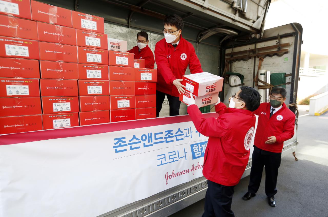 Korea supplies distribution with J&J