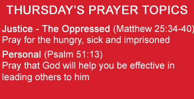 prayer topic