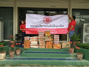 Salvation Army COVID-19 response in Chiang Mai, Thailand