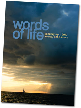 Cover of Words of Life devotional series
