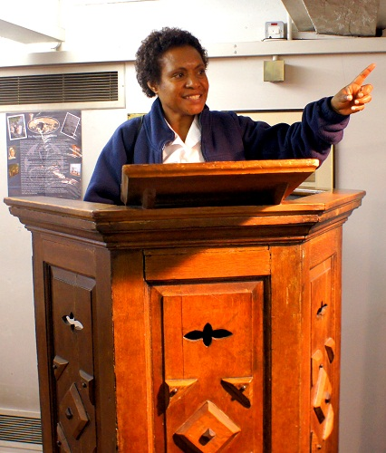 Rita the preacher