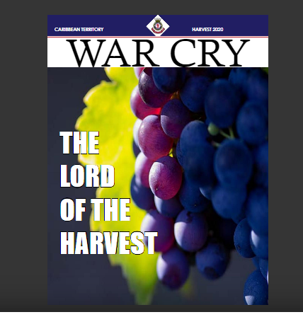 War Cry Cover - Harvest 2020