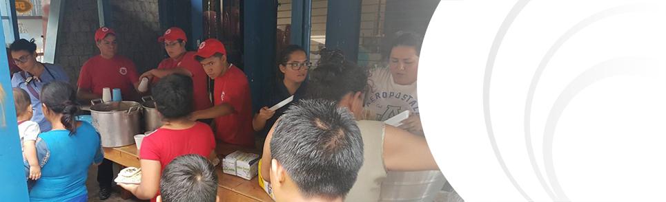 Disaster response in Guatemala