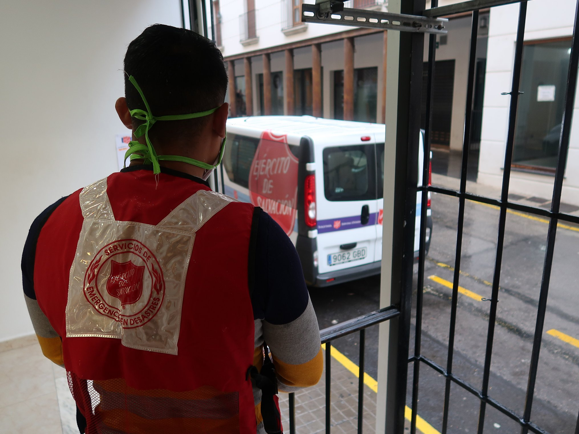 Salvation Army COVID-19 response in Dénia, Spain