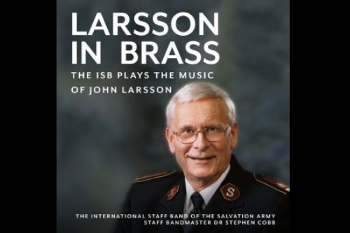 CD Cover - The ISB Plays the Music of John Larsson