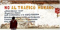 No al trafico humano