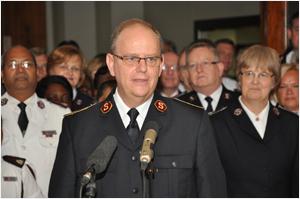 Commissioner André Cox