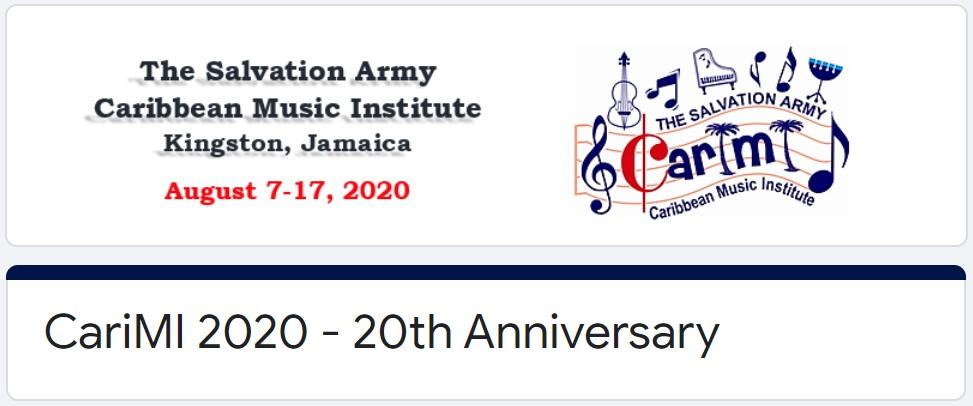CariMI 2020 Registration
