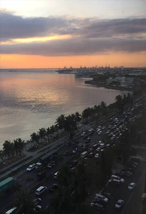 Manila promenade