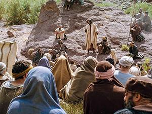 Jesus teaching (FreeBibleImages.com)
