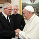 Pope Francis with General Peddle