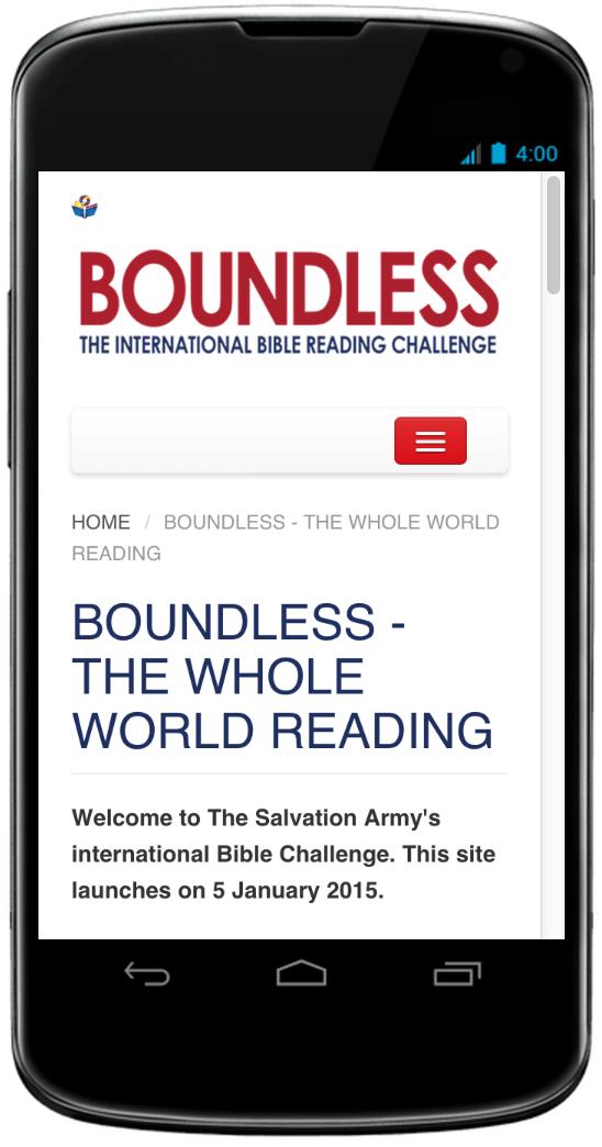 Bible Challenge - App