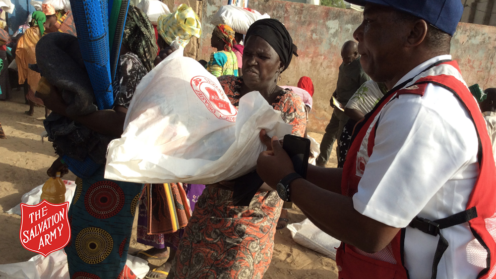 Distribution in Maiduguri