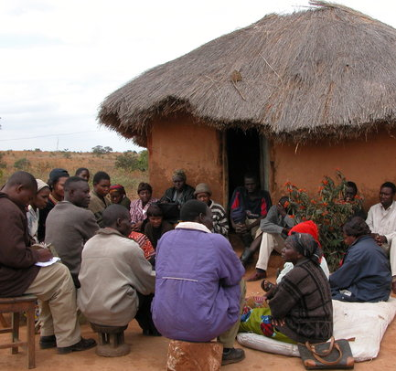 Community Meeting Zambia