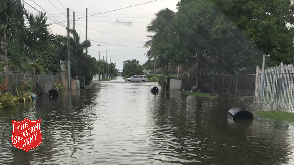 Flooding in Nassau, Bahamas