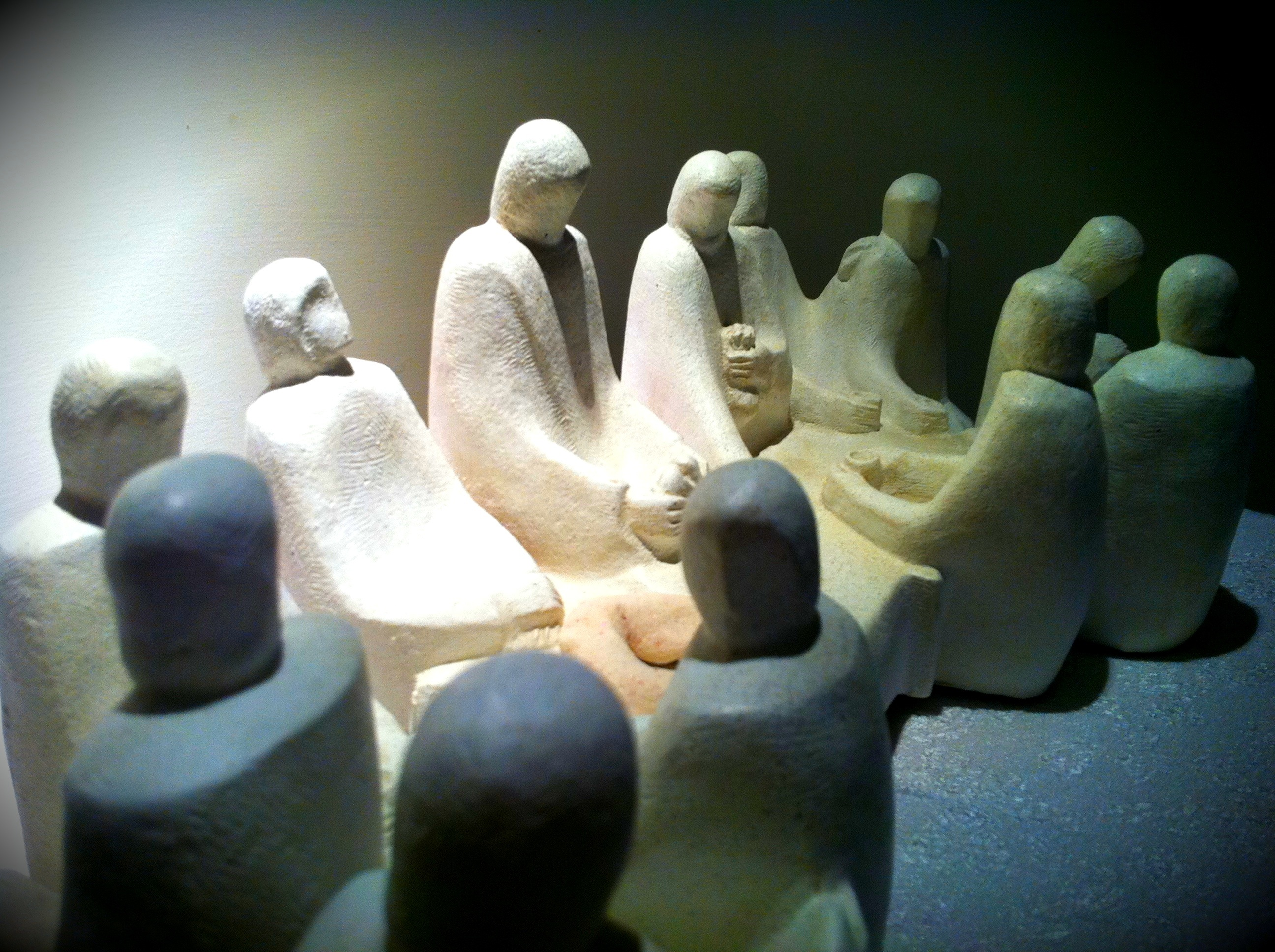 small group statues