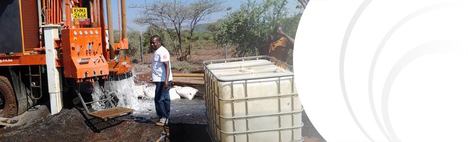 Kenya borehole