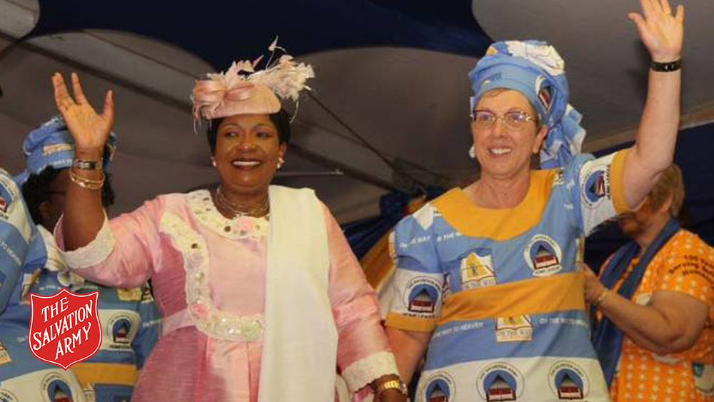 Zimbabwean First Lady with Commissioner Rosalie Peddle