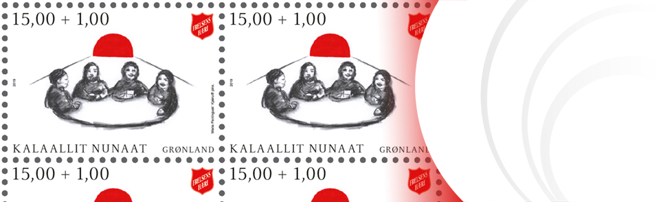 Postage stamps from Greenland