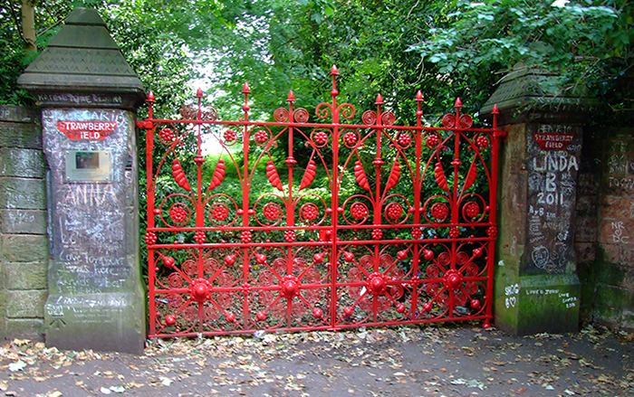 Strawberry Field's gates