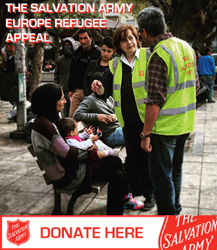 Give to The Salvation Army's Europe Refugee Appeal