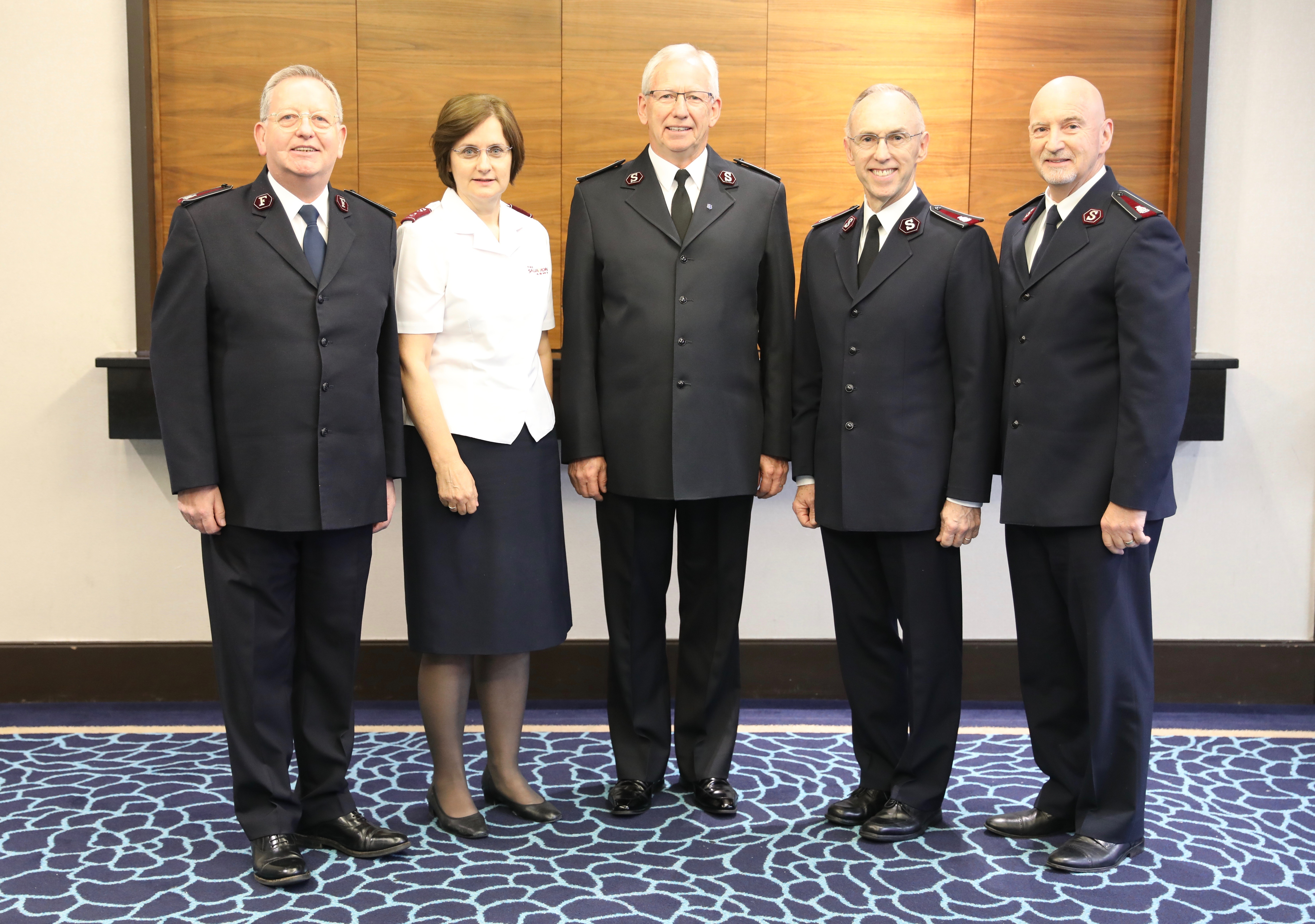 Candidates for General