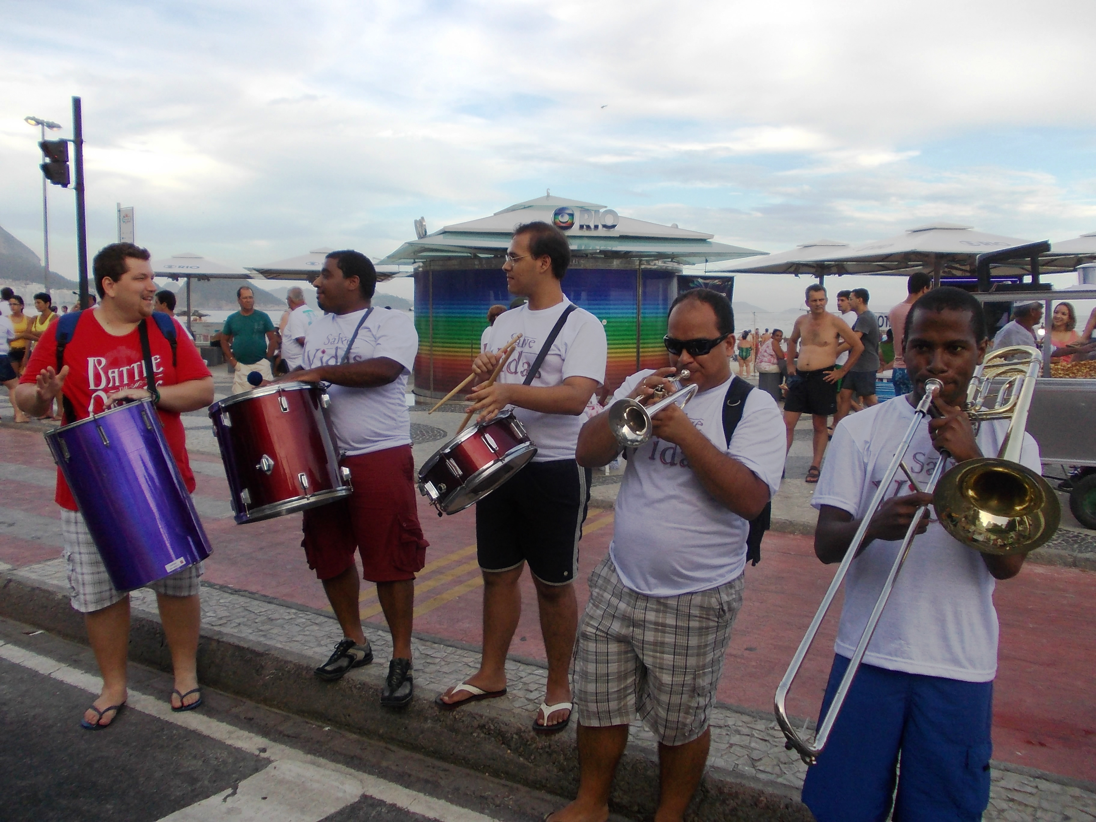 carnival band brazil