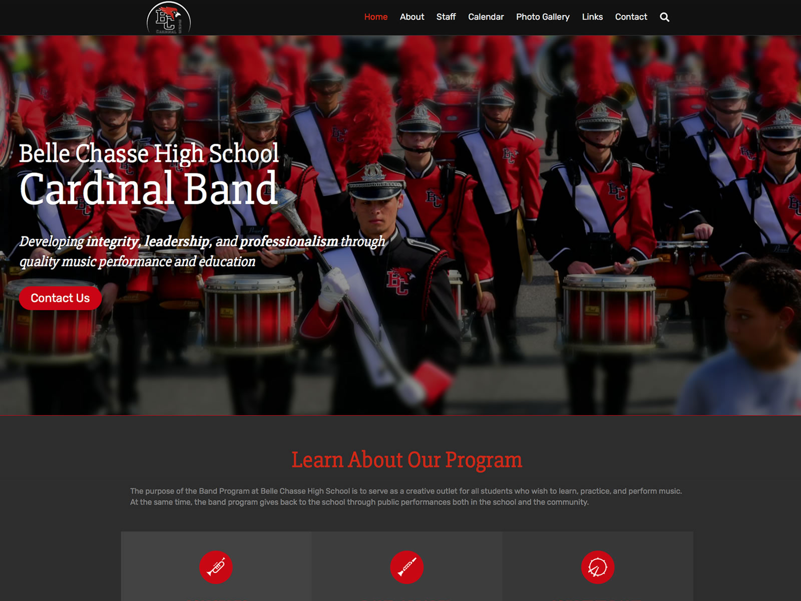 Belle Chasse High School Cardinal Band