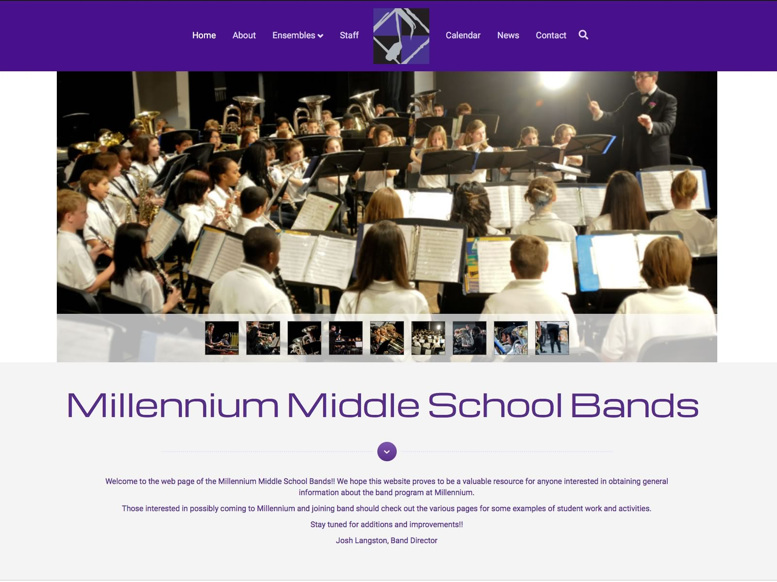 Millennium Middle School Bands