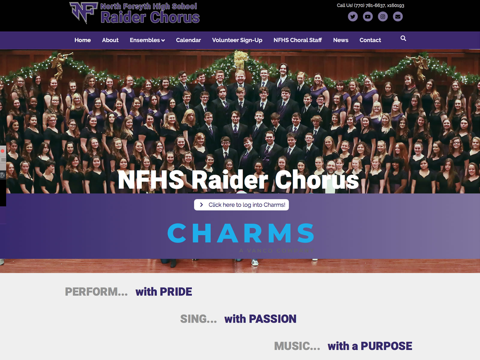 North Forsyth High School Raider Chorus