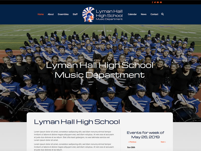 Lyman Hall High School Band