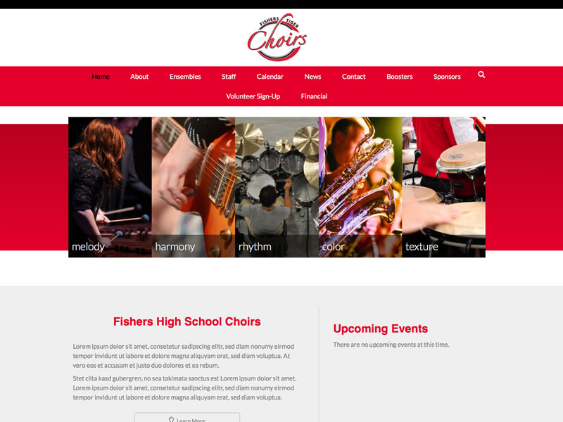 Fishers High School Tiger Choirs<br >Coming soon!