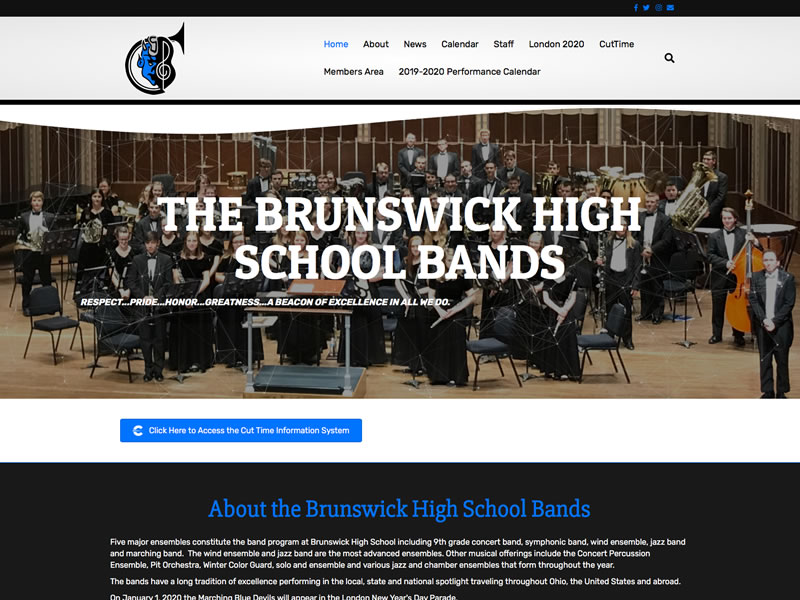 Brunswick High School Bands
