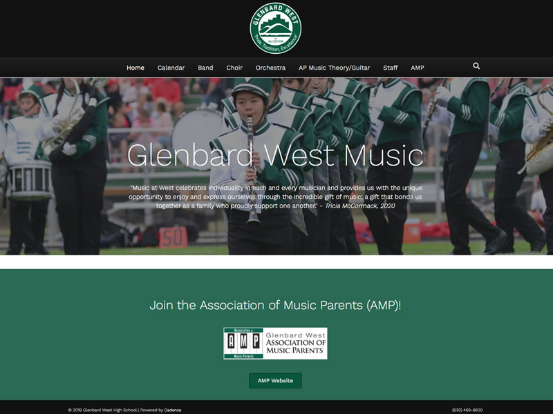 Glenbard West High School Music