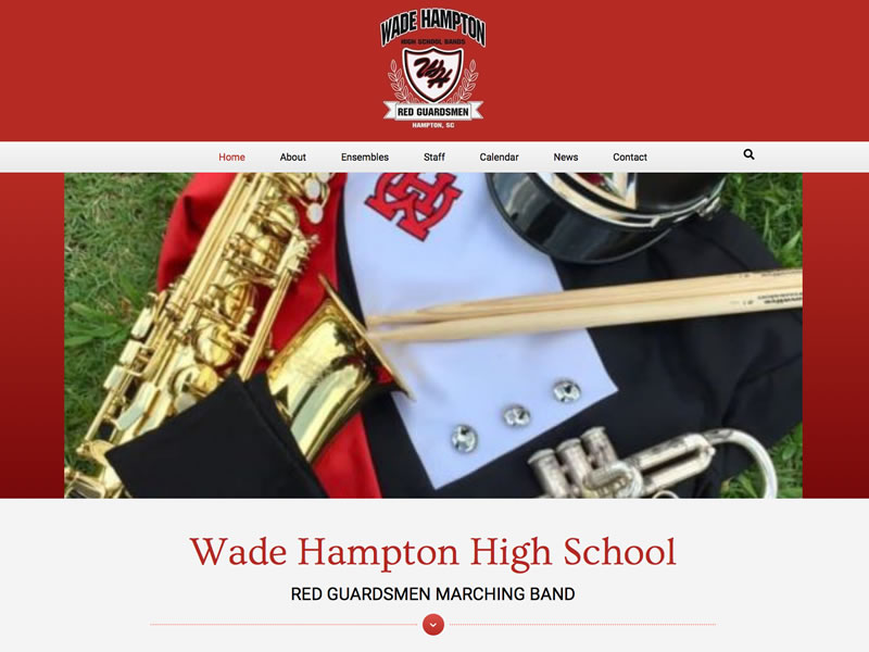 Wade Hampton High School Bands