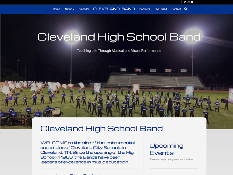 Cleveland High School Band