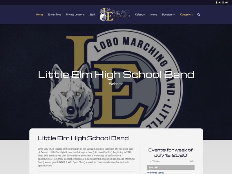 Little Elm High School Band