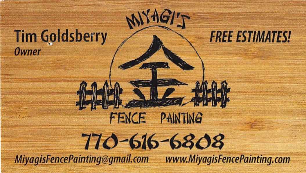 Miyagis-Fence